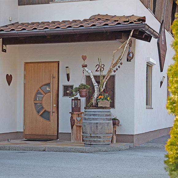 Farblichtakupunktur Mario Salvenmoser Tirol - Eingang