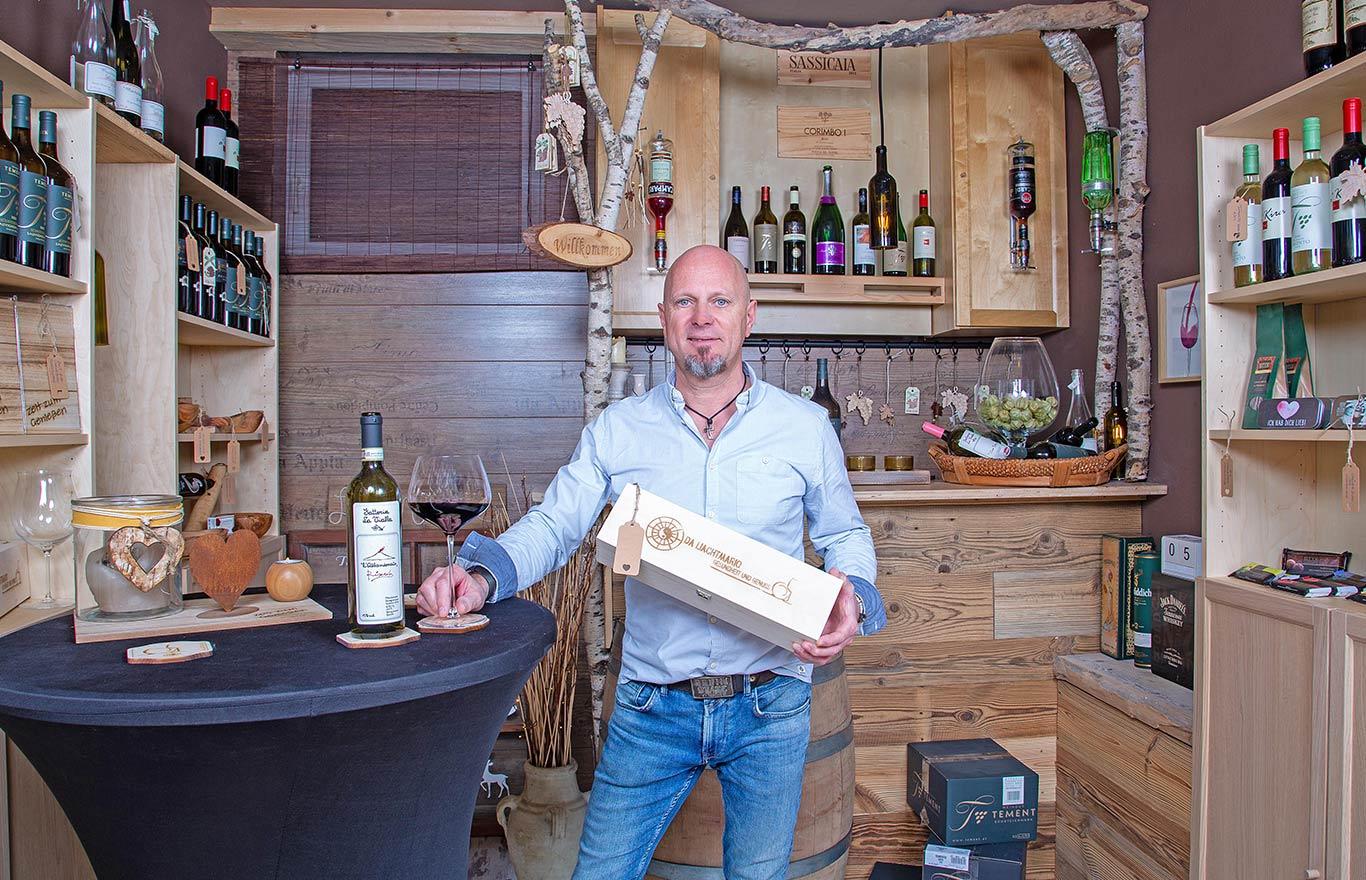 Weinpräsentation von Mario Salvenmoser